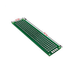 20pc FR4 PCB board Double side KT-1058D size=109x60x1.6mm pitch=2.0mm Taiwan