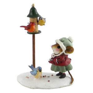 Wee Forest Folk Miniature Figurine M-429 - Feathered Friends