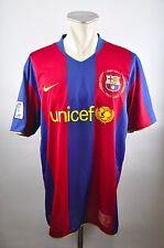 Fc Barcelona camiseta talla XL nike Jersey LFP 2007/08 Home FCB camp nou 50