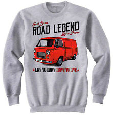 Fiat 600T - NEW COTTON GREY SWEATSHIRT ALL SIZES IN STOCK