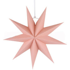 DIY Nine Angles Paper Star Hanging Christmas Lantern Home Party Decoration Craft