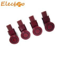 4pcs Red PDC Parking Assist Sensor Fit Honda Odyssey CRV 39680-SHJ-A61