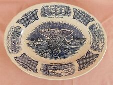 "Blue Alfred Meakin Fair Winds OVAL PLATTER 14-3/4"" have more items to set"