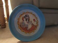 Willitts Designs - Round Tray - 1986 - Clown Picture