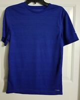 New Men's Champion C9 Athletic Blue Duo Dry Short Sleeve Shirt Size Small