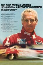 "Paul Newman Poster Race Driver Mini 11""X17"""