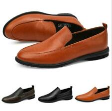 Mens Leisure Faux Leather Shoes Driving Moccasins Pumps Slip on Loafers Casual L
