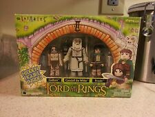 Lord of the Rings Minimate 4pk Figure Set - Toys R Us Gandalf,Gollum, Frodo
