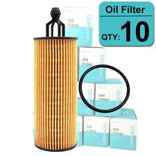 10X Oil Filter 68191349AA For Chrysler Jeep Wrangler Dodge Ram 1500 3.6L 3.2L