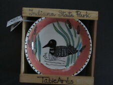 "1996 TableArts 8"" Ceramic Loon Pasta Bowl Designed by Debra Cherniawsky NWT"
