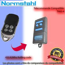 NORMSTAHL T433-4  Le remplacement de la télécommande 433.92MHz