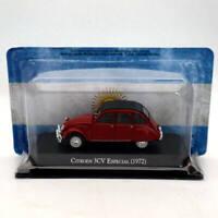 IXO Altaya 1:43 Citroen 3CV Especial 1972 Red Diecast Models Limited Edition