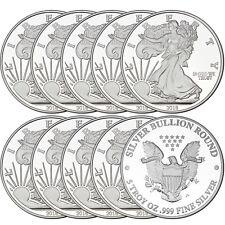 2018 Silver American Eagle Medallion by SilverTowne 5oz .999 Silver (10pc)