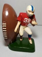 Vintage Football Player single Ceramic Bookend from Sears Roebuck and CO 1978