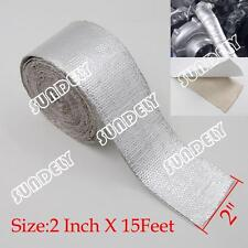 "2"" Self Adhesive Thermoshield Reflective Heat Shield Heatshield Tape Wrapping"