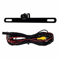 NEW CAR/TRUCK COLOR REAR VIEW BACK UP CAMERA FOR ABOVE LICENSE PLATE WITH WIRING