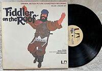 FIDDLER ON THE ROOF original soundtrack (United Artists) 1971 2-LPs w/book