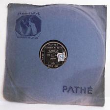 78T SAPHIR - BERARD Eldorado Disque Phonographe AU SOLEIL D'OR - PATHE 4214 RARE