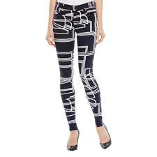 J Brand Jeans SUPER SKINNY Circuit Print Stretch W26 L31 AU8 US4 UK6 NEW Womens