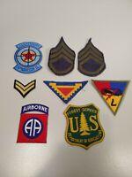 US Military Vintage Patche Lot