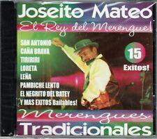 Joseito Mateo El Rey del Merengue  15 Exitos   BRAND NEW SEALED  CD