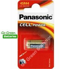 1 x Panasonic 4SR44 6V Silver Oxide Battery 4LR44 476A A544 PX28A L1325 Camera