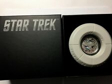 Star Treck The Next Generation Silver Proof Coin