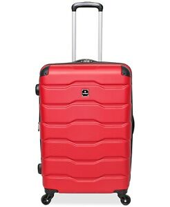 """Tag Matrix 2.0 20"""" Hardside Expandable Carry-On Red Spinner Suitcase 6008"""