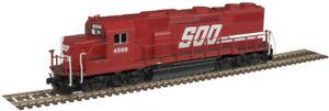 Atlas N Scale EMD GP39-2 Phase II (Standard DC) Soo Line (Red/White) #4599