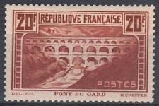 "FRANCE STAMP TIMBRE N° 262 "" PONT GARD 20F CHAUDRON TYPE IIB "" NEUF xx TTB  M270"