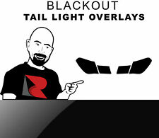 Rtint Tail Light Tint Overlay for Bmw 7-Series 2009-2015 - Blackout Smoke