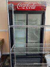 True Gdm 33 Refrigerator Low Height Cooler Merchandiser 2 Glass Doors