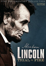 """New 3Dvd Civil War collection """"Lincoln: Trial by Fire"""" rare Brand New collection"""