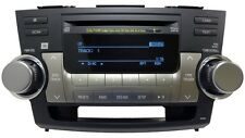 TOYOTA Highlander JBL Radio 6 Disc Changer MP3 CD Player A518AY Factory OEM