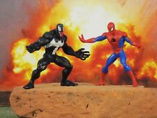 Hasbro Marvel Superhero Spider-Man vs Venom Figure Model Cake Topper K201_K790