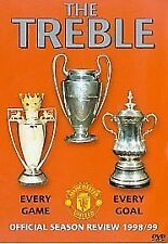 Manchester United - The Treble (DVD, 1999)