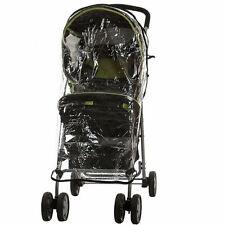 Universal solo cochecito de bebé Protector contra la lluvia fácil ajuste Compacto Wind & Escudo De Agua