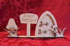 MDF Wooden Wooden Fairy door freestanding laser cut scene craft decoration Cr...