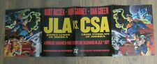 Promo Poster - JLA #107 vs. CSA (Crime Syndicate of America) DC Ron Garney  ZPO0
