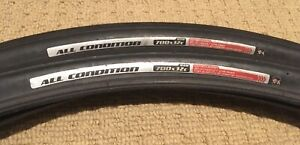 Pair Of Specialized All Condition Bicycle Tyres - 700x32