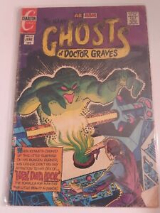 Charlton Ghosts Of Doctor Graves June NO. 32 Comic Book Free Combined Shipping!!