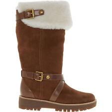MICHAEL KORS Fawn Suede Boots-Dark Caramel, Women's UK5/EU38