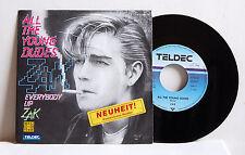 "7"" Single Zak  All The Young Dudes  Bowie Z. Preen Reggie Worthy Teldec Promo M-"