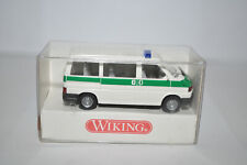 "Wiking 109 01 Vw Caravelle Van ""Polizei"" for Marklin - New w/Box"