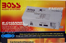 Wireless FM Modulator High Performance Boss Audio FMW8, 8-Channel  NEW