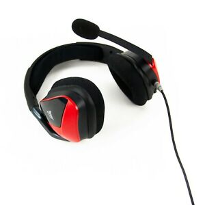 Corsair VOID ELITE Surround-Gaming-Headset mit Mikrofon, 7.1 Audio, Rot