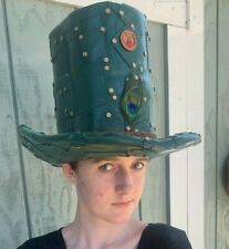 Burning Man, Steam Punk Top Hat, crafted by Lothar's Leather