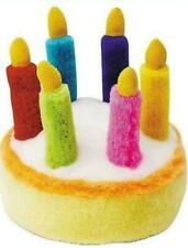 Multipet Birthday Cake Plush Dog Sound Toy Plays - HAPPY BIRTHDAY - Music Song