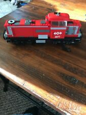 Lego City Red Cargo Train Diesel Engine + Power Functions 60052/3677/7939 Mint.