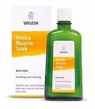 WELEDA ARNICA MUSCLE SOAK 200ml - BATH MILK SOOTHING & RELAXING